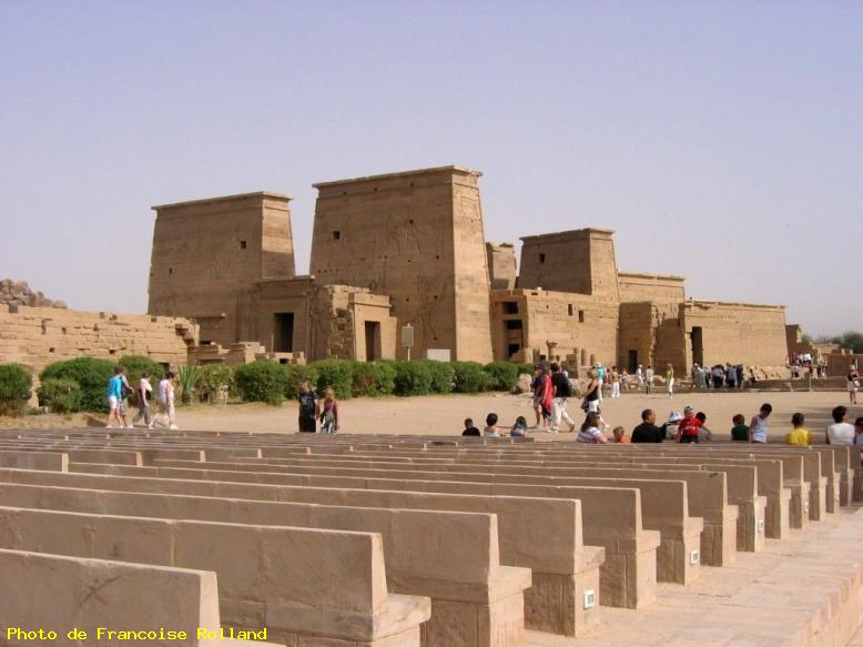 ZOOM : Temple d'isis - Philae