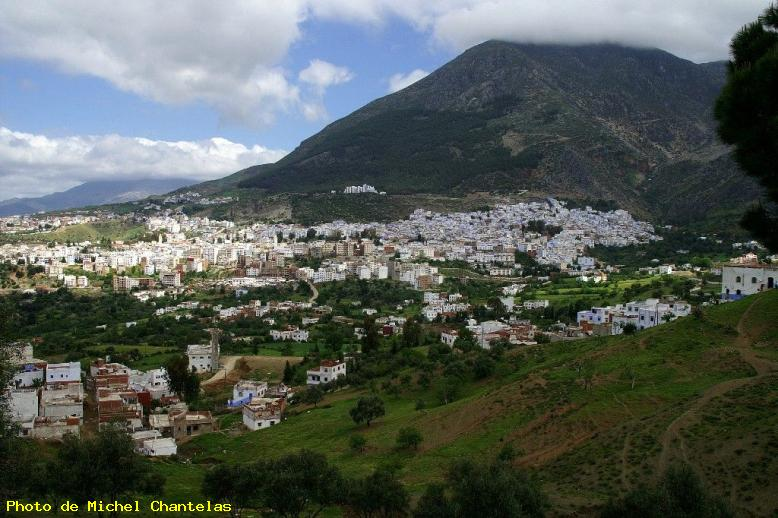 ZOOM : Vue panoramique - Chefchaouen