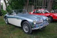 Cabriolet Austin Healey 3000 MKIII - Lons le Saunier