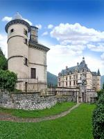 Chateau . Panoramique 120° - Vizille ( 38 - France )