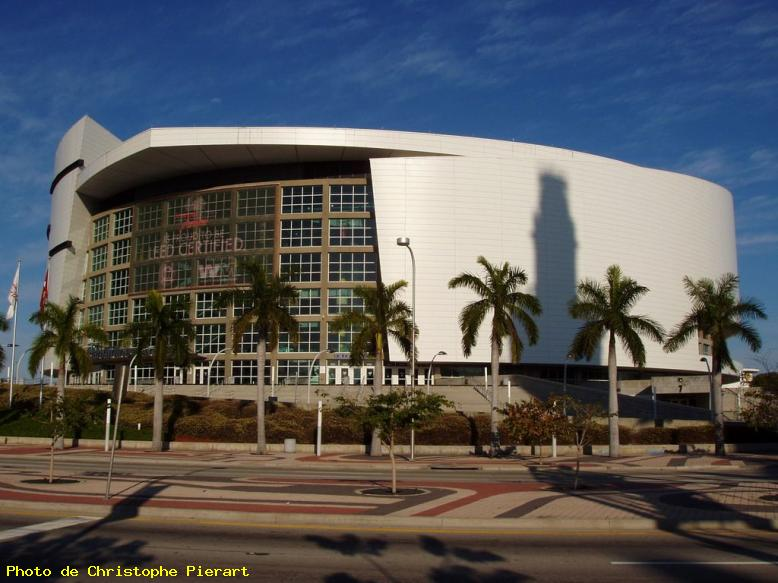 ZOOM : American airlines arena - Miami