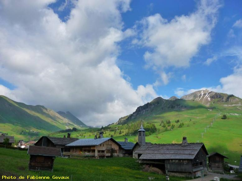 Vieux village - Chinaillon, grand bornard