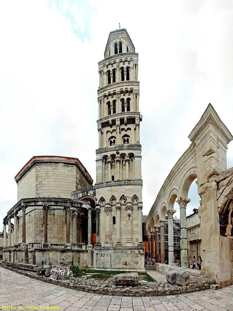 Panoramique 130°-cathédrale st domnius - Split ( croatie )