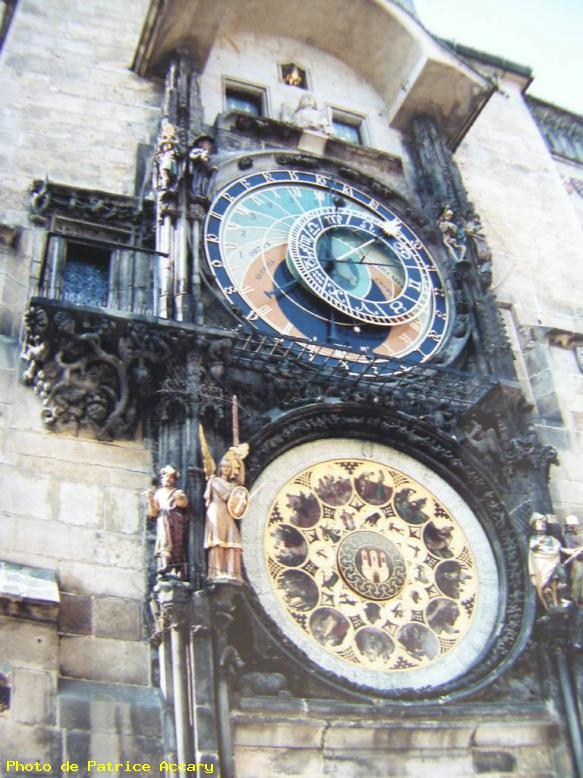ZOOM : Horloge astronomique - Prague