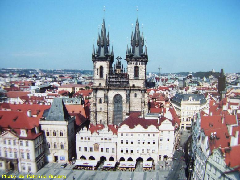 ZOOM : Cathedrale - Prague