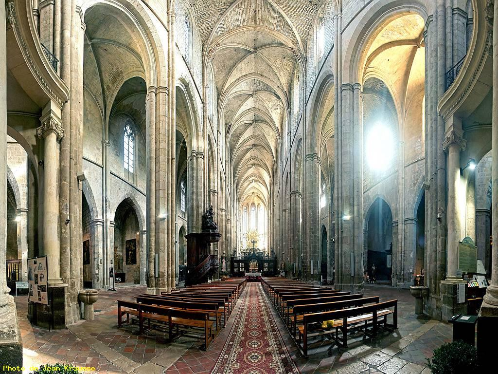 photo panoramique180 basilique ste marie madeleine saint maximin la sainte baume 83. Black Bedroom Furniture Sets. Home Design Ideas