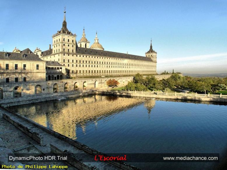 ZOOM : L'escorial - Madrid