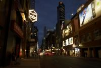 Younge avenue by night - Toronto - ON - Canada