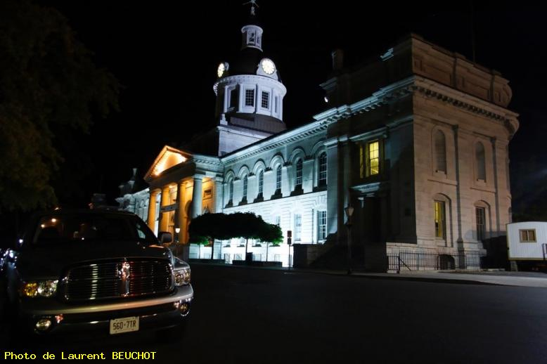 ZOOM : Kingston - hotel de ville by night - Kingston - on - canada