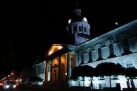 Kingston - Hotel de Ville by night - Kingston - ON - Canada