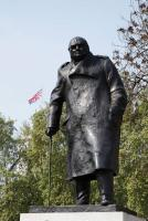 Westminster - Statue Churchill - Londres