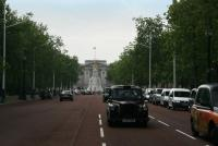 Buckingham Palace sur The Mall - Londres
