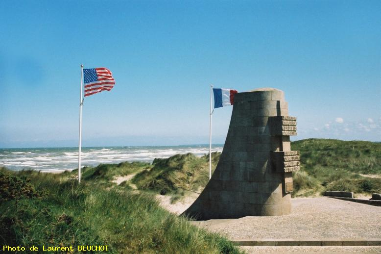 Photo utah beach monument leclerc la madeleine ref 3472 - Monument la madeleine ...