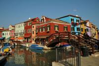 pont sur canal - burano