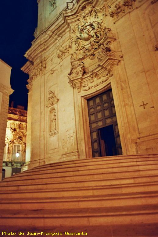 ZOOM : Eglise baroque - Martina franca