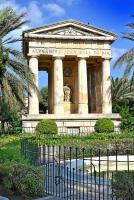 Jardin Upper Barraca et son monument - La valette ( Malte )