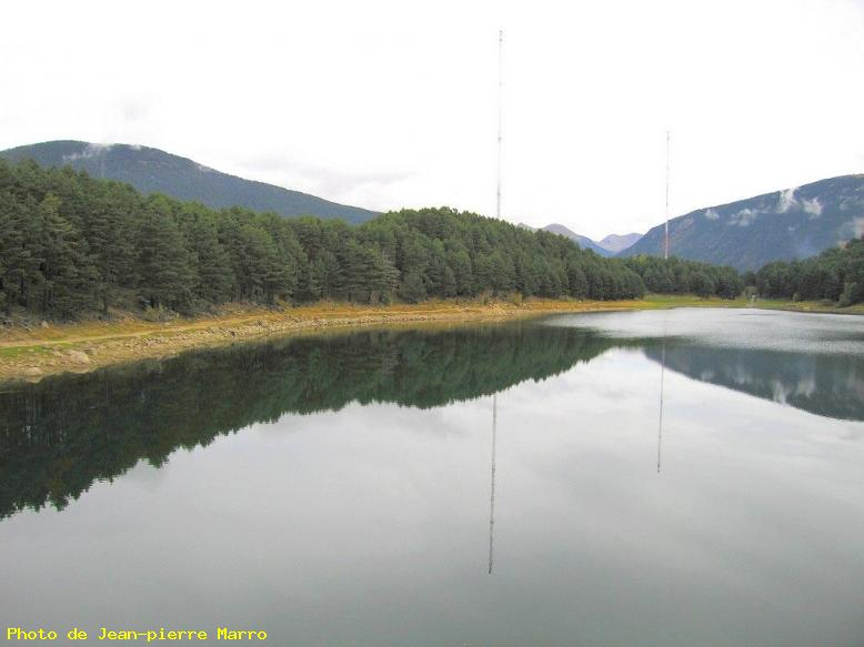 ZOOM : Lac d'engolasters (4) - Lac d'engolasters-andorre