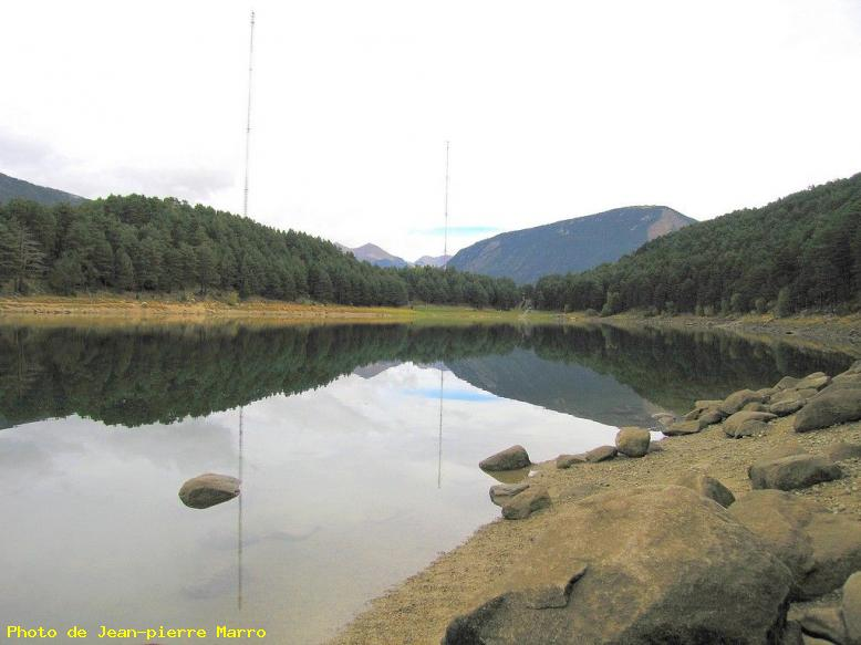 ZOOM : Lac d'engolasters (8) - Lac d'engolasters-andorre