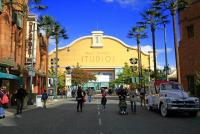 Hollywood Boulevard - PARC WALT DISNEY STUDIOS - PRODUCTION COURTYARD