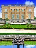 Petit trianon façade Ouest Nord Ouest - Versailles ( Yvelines - France )