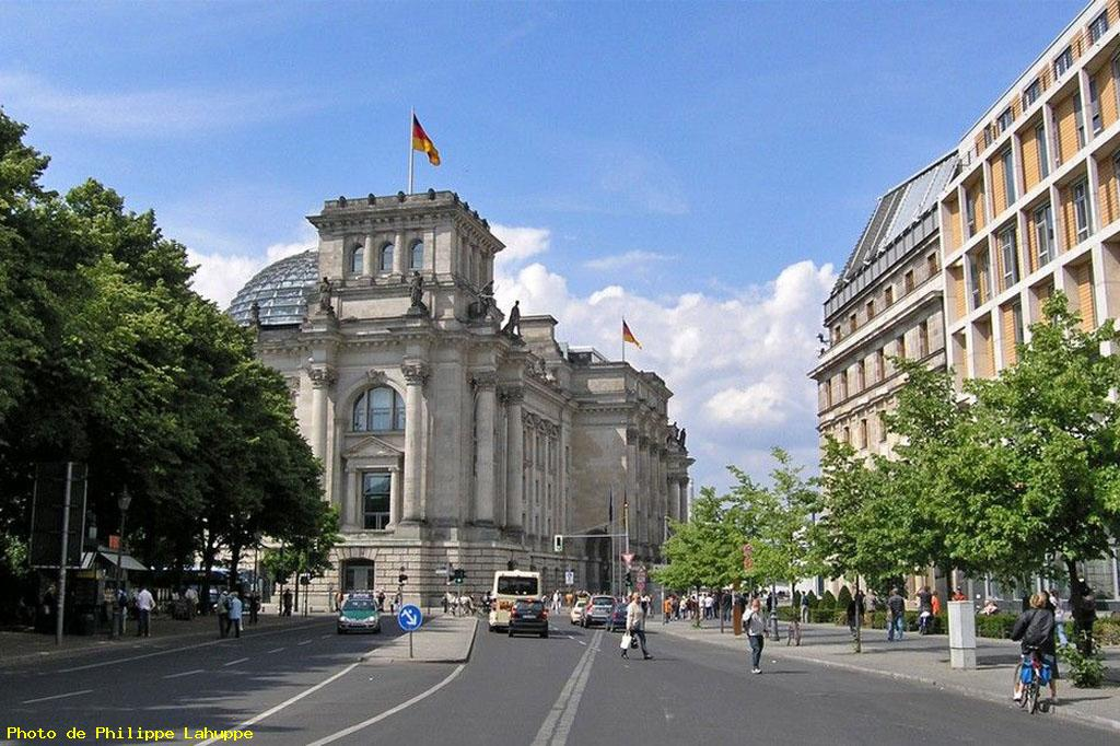 Vers le reichstag - Berlin