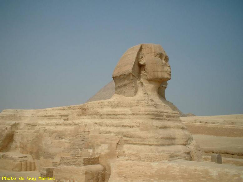 ZOOM : Le sphinx - Gizeh