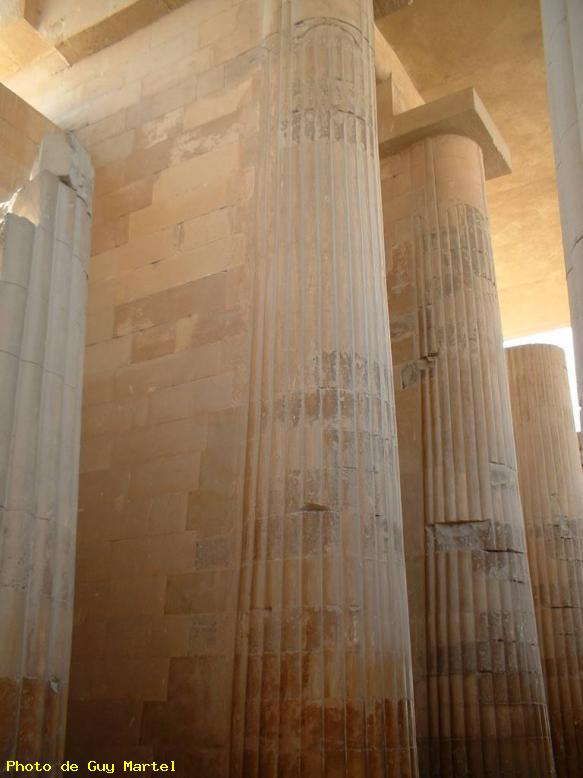 ZOOM : Colonnes - Moyenne egypte