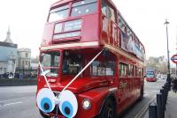 bus en fete - Londres