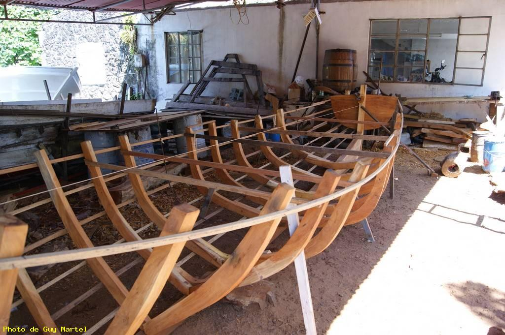 Fabrication d'une barque - Grand gaube