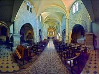 Panoramique de 205°-Eglise N.D.de l'Assomption - Cuers - ( Var - France )