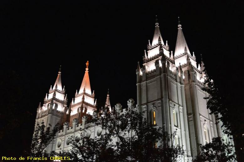 ZOOM : Temple mormon - Salt lake city