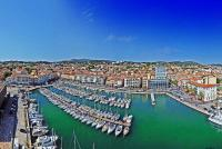 Panoramique de 130° - Le port de plaisance - La Seyne sur Mer - (  Var - France)