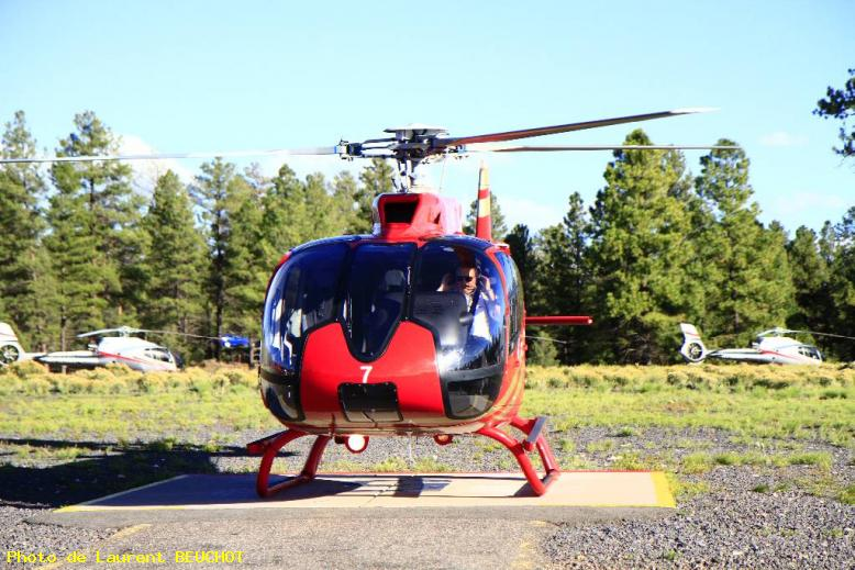 ZOOM : Gran canyon helico - Flagstaff heliport