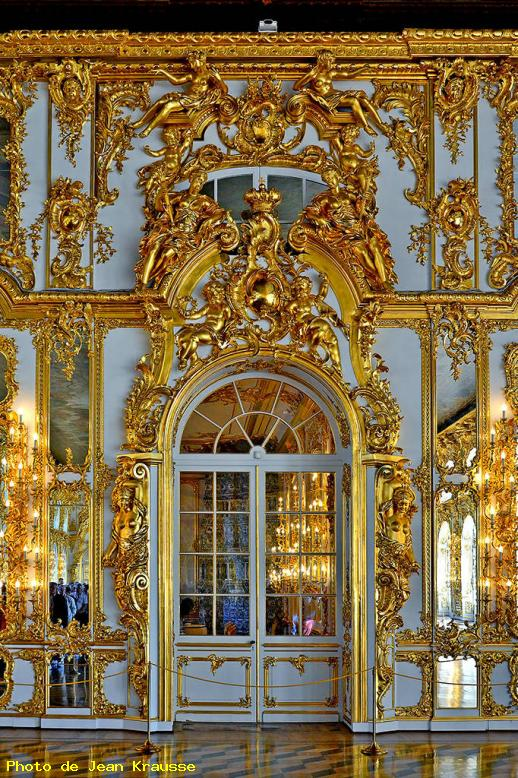 ZOOM : Palais catherine - décorations - Saint pétersbourg ( russie )