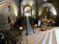 Panoramique de 200°-Eglise St Michel - Grimaud - ( Var - France )