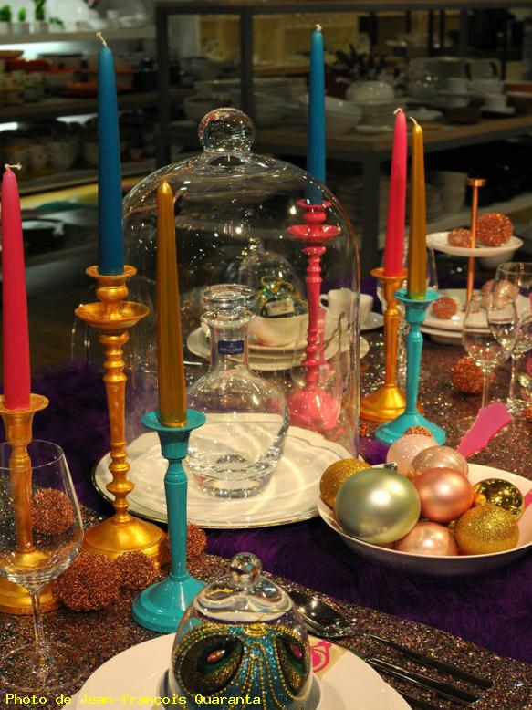 ZOOM : Table de noël - Strasbourg