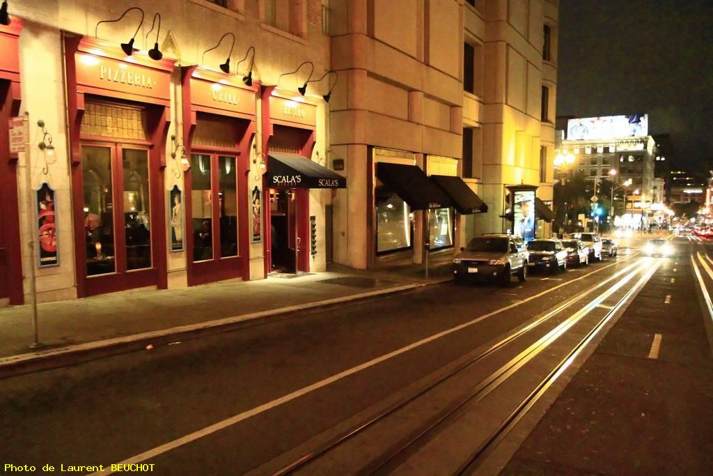 Cable car experience - San francisco