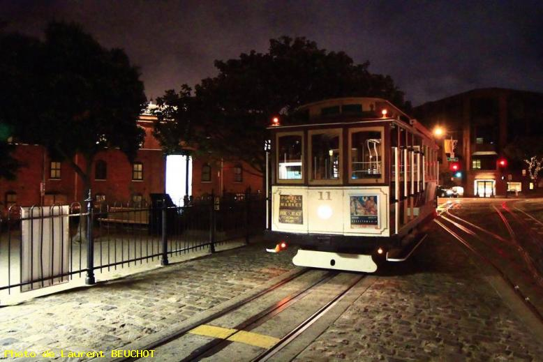 ZOOM : Cable car experience - San francisco