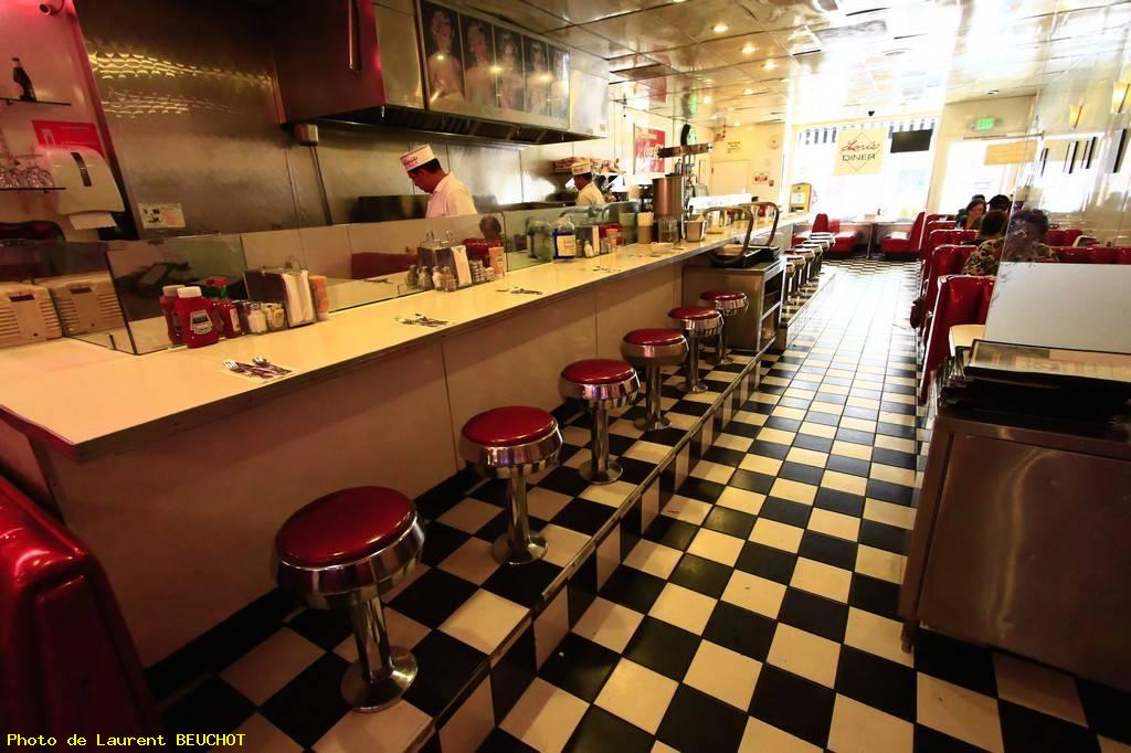 American diner experience - San francisco