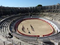 Apprentissage des Gladiateurs. - Arles