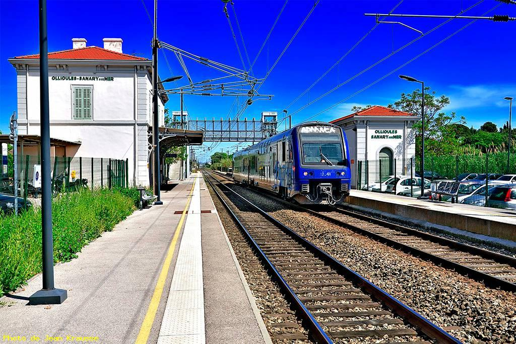 Photo gare de sanary ollioules sanary sur mer var for Photographe clamart gare