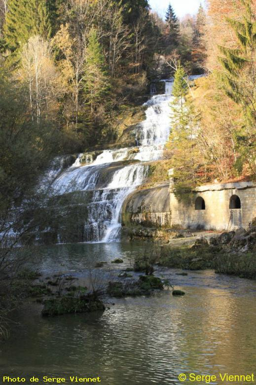 ZOOM : Cascades du day - Vallorbe