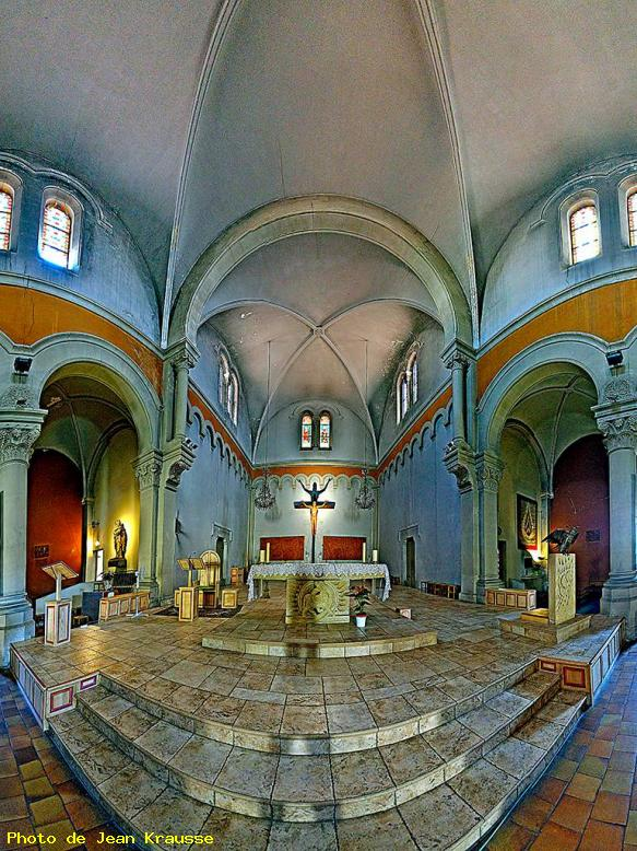 Panoramique de 170° - Eglise St Cyprien - Toulon ( Var - France )