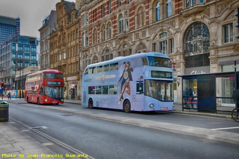 ZOOM : Bus londoniens - Londres