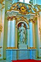 Sculpture du Grand Escalier - Ermitage - - St Petersbourg