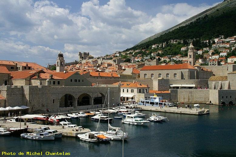 ZOOM : Le port - Dubrovnik