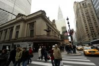Grand Central Terminal & Chrisler Building - manhattan