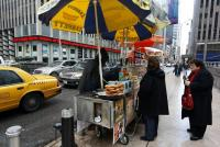Hot Dog & Bretzel cars - manhattan