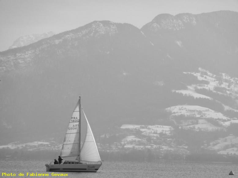 Voile d'hiver - Annecy